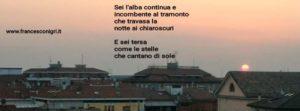 Sei l'alba di Francesco Nigri